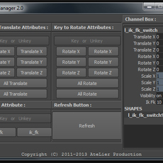 Key Manager for Maya 2.0.0 (maya script)
