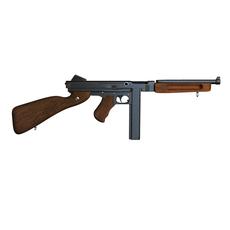 Automatic gun 3D Model