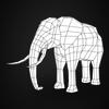 19 54 55 83 realistic elephant 08 4