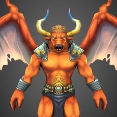 Hell Man 3D Model
