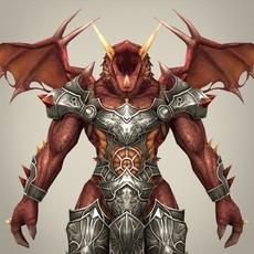 Hell Fighter 3D Model
