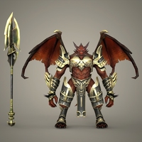 Fantasy Character Tindaji 3D Model