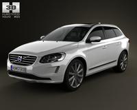Volvo XC60 2014 3D Model