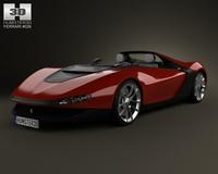 Ferrari Pininfarina Sergio 2013 3D Model