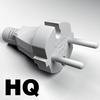 19 55 24 961 electric plug free 3d model 4