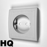 Electric Socket 3D Model