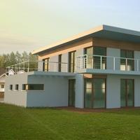 Modern House 002 3D Model