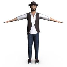 Casual Male 3D Model