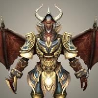 Fantasy Character Tindaro 3D Model