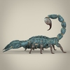 19 56 16 861 fantasy blue scorpion 03 4