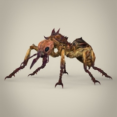 Fantasy Warrior Ant 3D Model