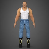 Male Character Jackson 3D Model