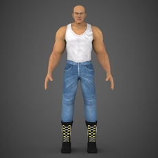 Male Character Jackson 3D Model