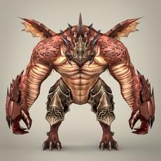 Fantasy Character Manjaa 3D Model