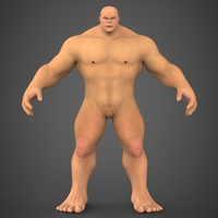 Fantasy Character Saabu 3D Model