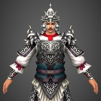 Chinese Soldier 3D Model