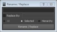 Free Compact Renamer for Maya 1.1.1 (maya script)