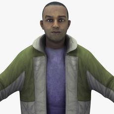 Lowpoly Male 3D Model