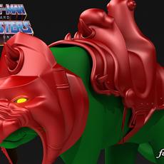 Battle Cat 1.0 std mat 3D Model