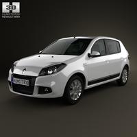 Renault Sandero (BR) 2011 3D Model