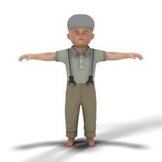 Toddler Boy 3D Model