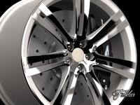 Aston Martin One-77 rim 3D Model