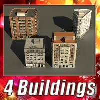 Building Collection 5-8 3D Model