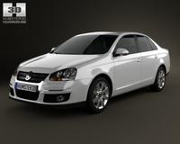 Volkswagen Jetta (A5) 2010 3D Model
