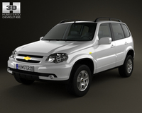 Chevrolet Niva 2012 3D Model