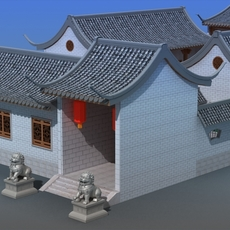 Chinese Architecture 14 3D Model