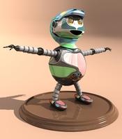 Free SCARY ROBO 3D Model
