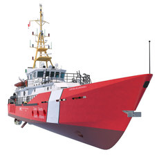 Hero Class Canadian Coast Guard vessel 3D Model