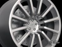 Aston Martin Vanquish rim 3D Model