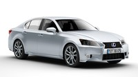 Lexus GS 450H 3D Model