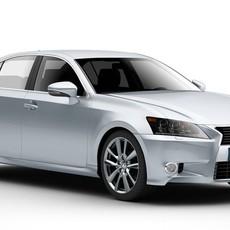 Lexus GS 450H 3D Model