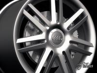 Audi A3 rim 3D Model