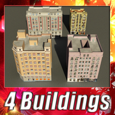 Building Collection 85-88 3D Model