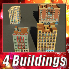 Building Collection 93-96 3D Model