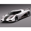 Koenigsegg Agera R 2012 3D Model