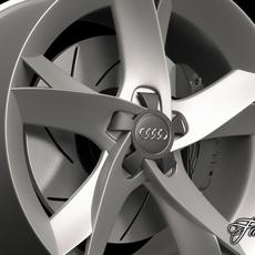 Audi A5 rim 3D Model