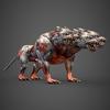 20 07 09 660 fantasy animal hell dog 06 4