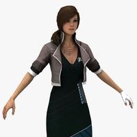 Alexia 3D Model