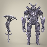 Fantasy Monster Katilaaji 3D Model