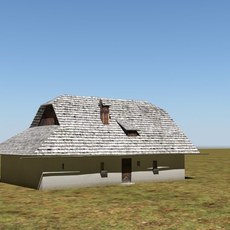 traditional house 3D Model
