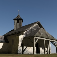 old low poly chapel 3D Model