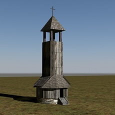 old tower 1 3D Model
