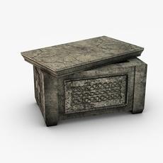 Ancient stone ark 3D Model