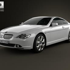 BMW 6 Series (E63) coupe 2004 3D Model