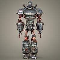 Fantasy Robot Robonic 3D Model