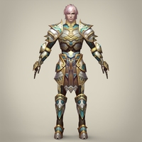 Warrior Belnaga 3D Model